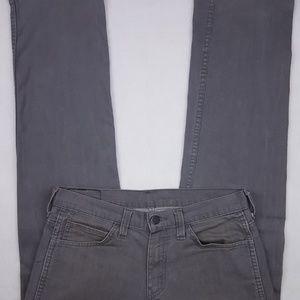 Levi's 569 Jeans Gray 31x29 Mens Size Denim Jean L